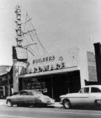 1946 - The Saucedo hardware store as viewed from Texas Street in downtown El Paso, TX.