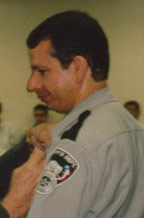 1995 - David is sworn by the late Sheriff Leo Samaniego as a Reserve Sheriff's Department Deputy