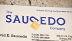 2010 - The Saucedo Company rebrands with a new logo, business cards, and website